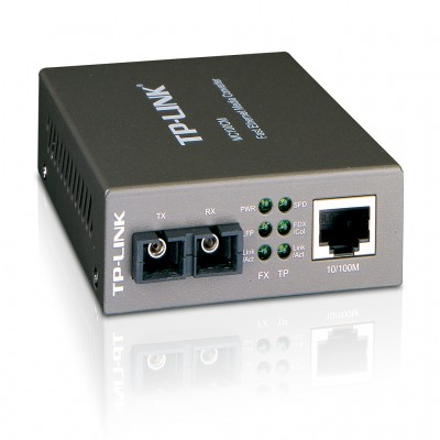 Convertidor de Medios TP-LINK MC100CM, Plata, SC