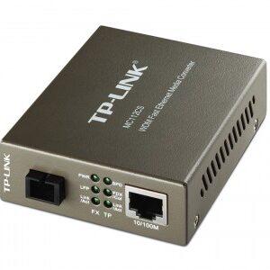 Convertidor de Medios TP-LINK MC112CS, Plata, SC