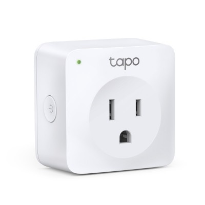 KIT Mini Enchufe Inteligente Wi-Fi TP-LINK TAPO P100(1-PACK), Inalámbrico, Wi-Fi, Interior, Blanco, AC 220-240 V~50/60 Hz 10 A