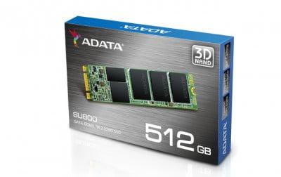 SSD ADATA ASU800NS38-512GT-C, 512 GB, Serial ATA III, 560 MB/s, 520 MB/s, 6 Gbit/s