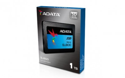 SSD ADATA SU800, 1024 GB, Serial ATA III, 560 MB/s, 520 MB/s, 6 Gbit/s