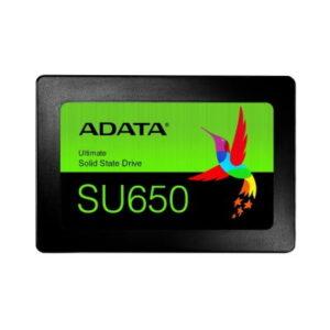 SSD ADATA SU650, 480 GB, SATA III, 520 MB/s, 450 MB/s, 6 Gbit/s