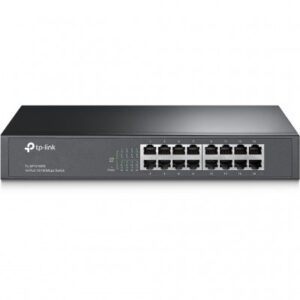 SWITCH TP-LINK TL-SF1016DS, NEGRO, 16, 10/100 BASE-T(X)