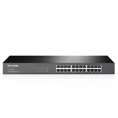 SWITCH TP-LINK, NEGRO, 10/100/1000 MBPS, 24PTOS, RACK