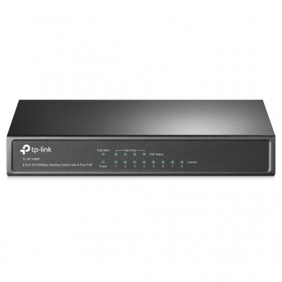 SWITCH POE TP-LINK TL-SF1008P, NEGRO, 53 W