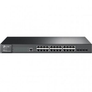 SWITCH ADMINISTRABLE TP-LINK T2600G-28TS, NEGRO