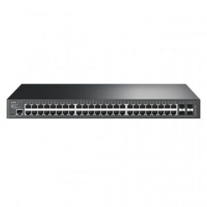 SWITCH ADMINISTRABLE TP-LINK T2600G-52TS, NEGRO
