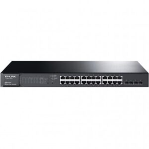 SWITCH POE ADMINISTRABLE TP-LINK T1600G-28PS, NEGRO, 216 W