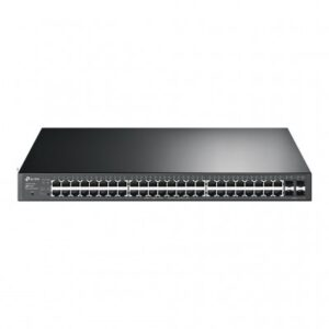 SWITCH POE ADMINISTRABLE TP-LINK T1600G-52PS, NEGRO, 470,4 W